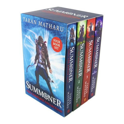 Young Adult - Summoner Series 4 Books Box Collection Set - Young Adult - Paperback By Taran Matharu