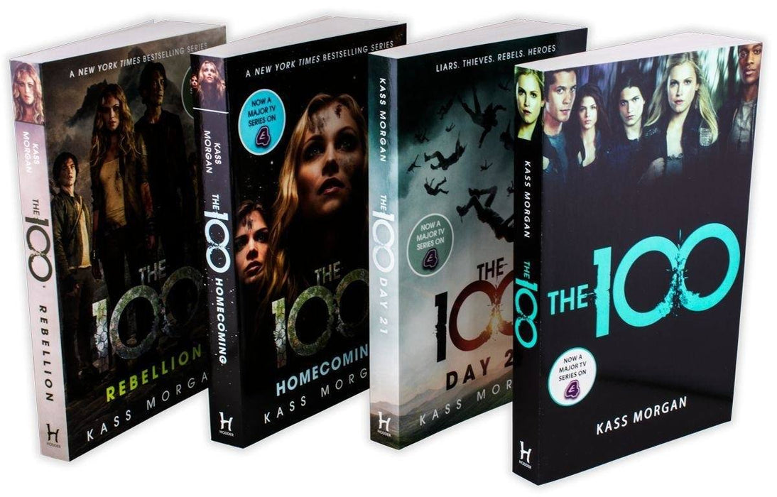 The 100 4 Book Collection - Young Adult - Paperback -  Kass Morgan - Books2Door