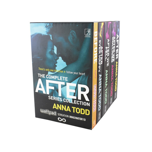 The After Series 5 Books Collection Box Set - Young Adult - Paperback - Anna Todd - Books2Door