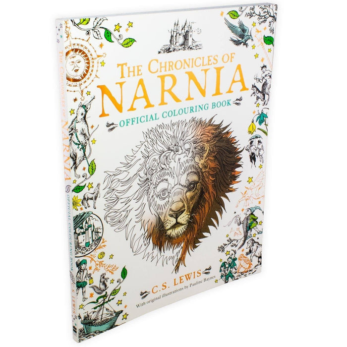 The Chronicles of Narnia Official Colouring Book Young Adult Harper Collins