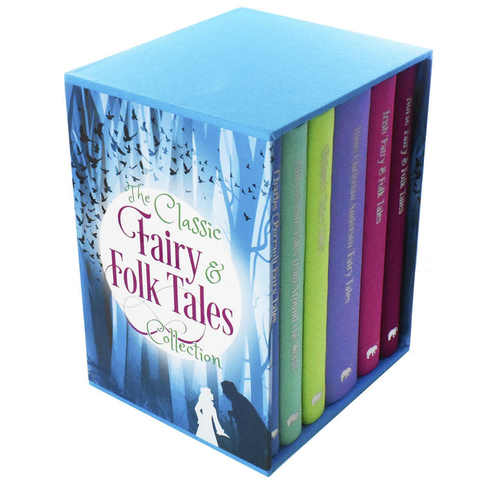The Classic Fairy and Folk Tales - 6 Books Collection - Young Adult - Hardback - Arcturus Publishing Ltd - Books2Door