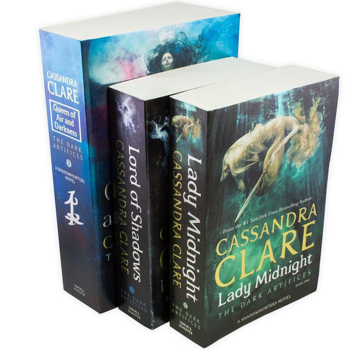 The Dark Artifices 3 Book Collection - Young Adult - Paperback - Cassandra Clare Young Adult Simon and Schuster