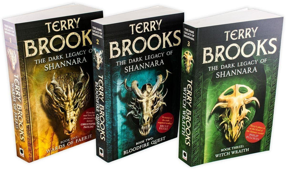 The Dark Legacy of Shannara 3 Book Collection - Young Adult - Paperback -  Terry Brooks - Books2Door