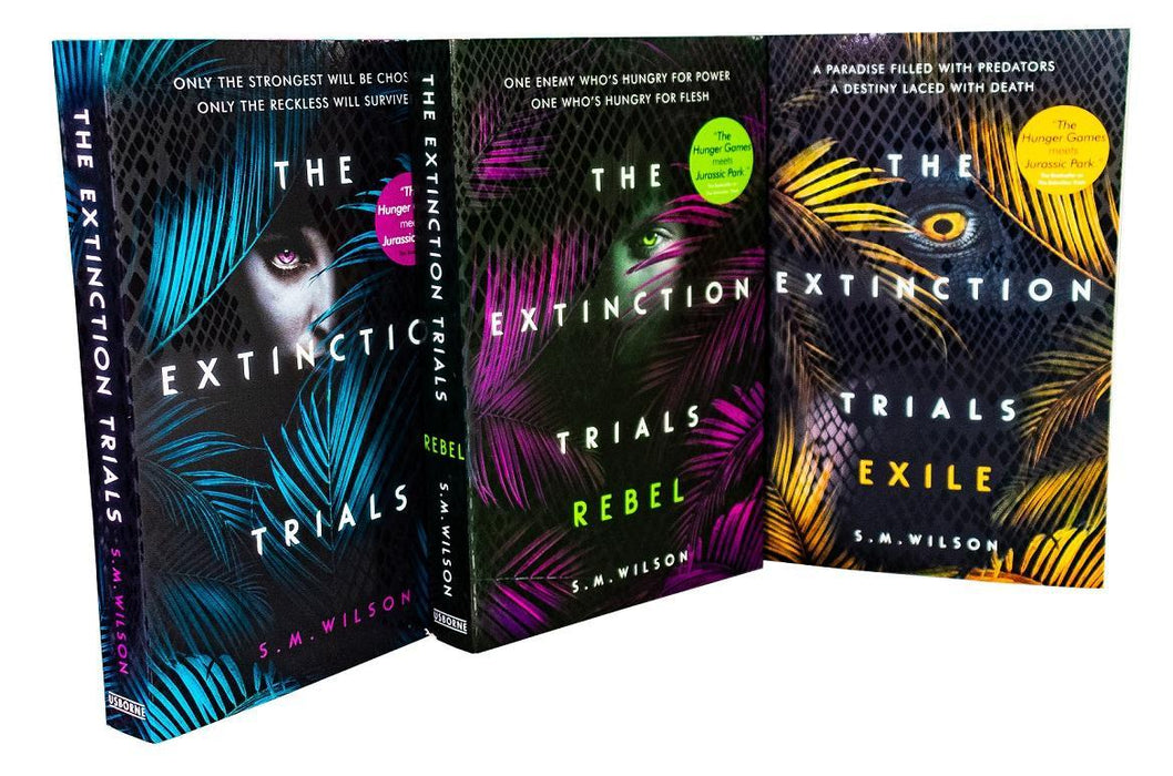 The Extinction Trials Series 3 Book Collection - Young Adult - Paperback - S.M. Wilson Young Adult Usborne Publishing