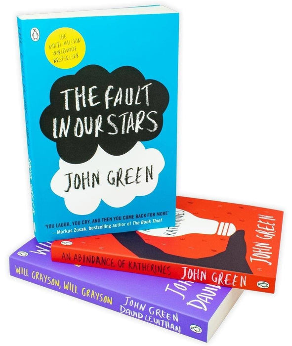 The Fault In Our Stars 3 Book Collection - Young Adult - Paperback - John Green - Books2Door