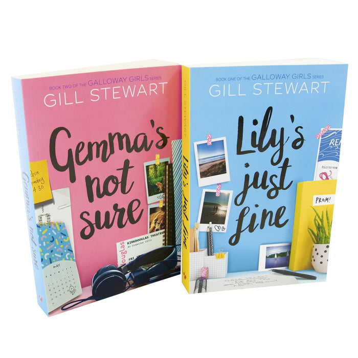 Young Adult - The Galloway Girls 2 Books Collection - Young Adult - Paperback By Gill Stewart
