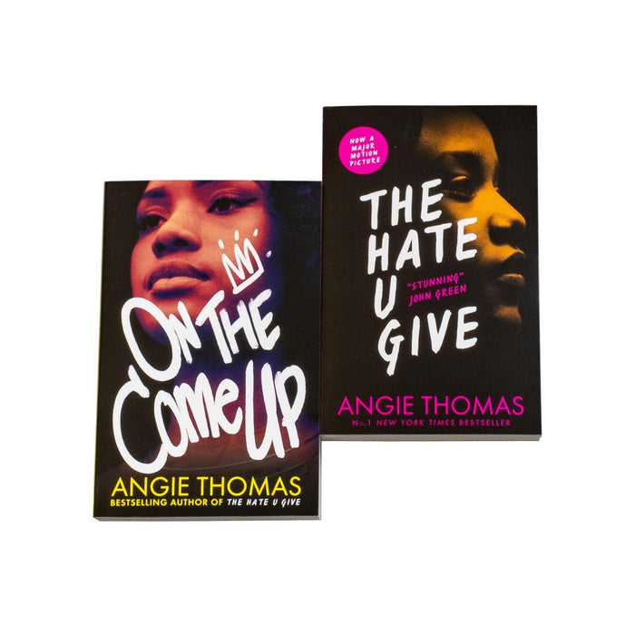 The Hate You Give and On The Come Up 2 Book Collection - Young Adult - Paperback - Angie Thomas - Books2Door