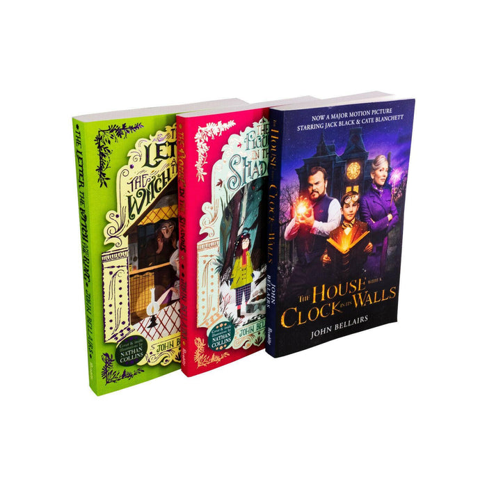 The house with a clock in its walls 3 Book Collection - Young Adult - Paperback - John Bellairs - Books2Door