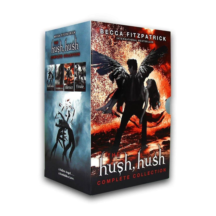 The Hush Hush Collection 4 Books Set - Young Adult - Paperback - Becca Fitzpatrick - Books2Door