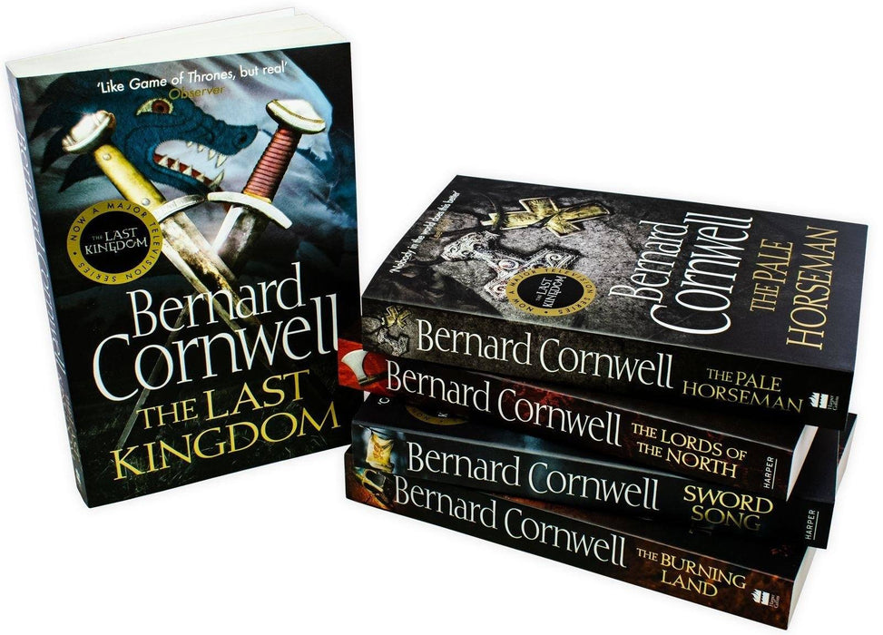 The Last Kingdom 5 Book Collection Set 1 -  Young Adult - Paperback - Bernard Cornwell - Books2Door