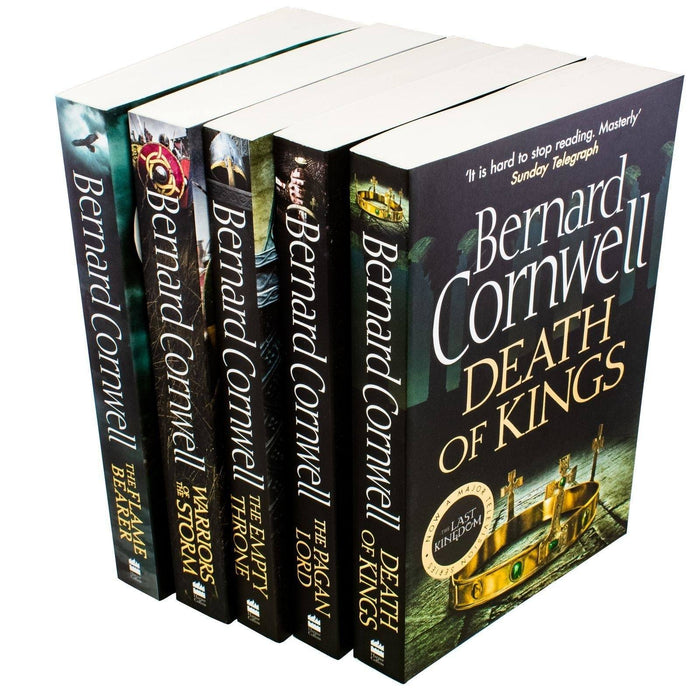 The Last Kingdom 5 Book Collection Set 2 - Young Adult - Paperback - Bernard Cornwell - Books2Door