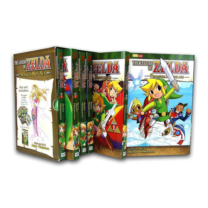 The Legend Of Zelda Box Set 1-10 - 10 Books - Action / Adventure - Paperback - Akira Himekawa - Books2Door