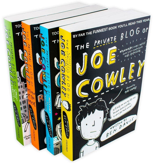 The Private Blog of Joe Cowley 4 Book Collection - Young Adult - Paperback - Ben Davis - Books2Door