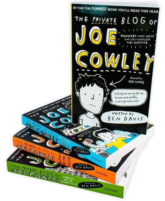The Private Blog of Joe Cowley 4 Book Collection - Young Adult - Paperback - Ben Davis Young Adult Oxford University Press