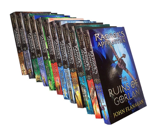The Rangers Apprentice 12 Books Collection - Young Adult - Paperback - John Flanagan - Books2Door