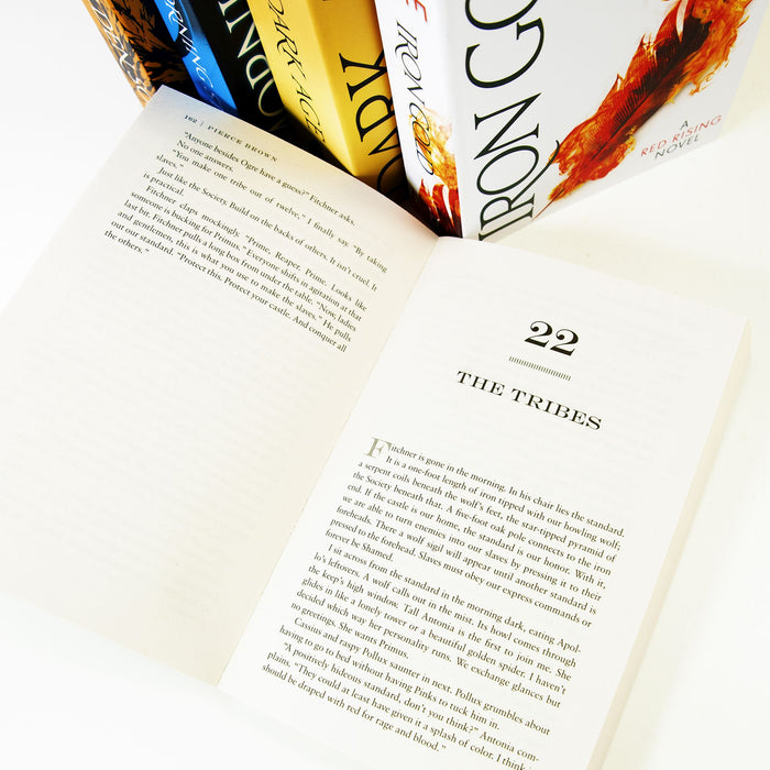 Young Adult - The Red Rising Series Collection 5 Books Set - Young Adult - Paperback By Pierce Brown