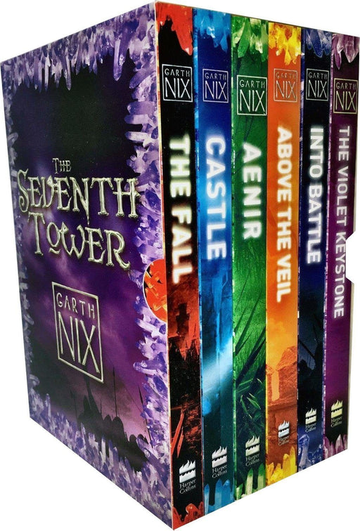 The Seventh Tower Collection 6 Books Box Set - Young Adult - Paperback - Garth Nix - Books2Door