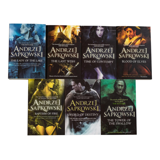 The Witcher Series 7 Book Collection - Young Adult - Paperback - Andrzej Sapkowski - Books2Door