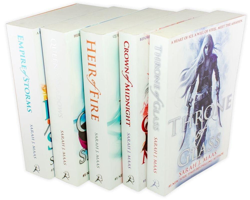 Throne Of Glass Series Collection 5 Books Set - Young Adult - Paperback -  Sarah J. Maas - Books2Door
