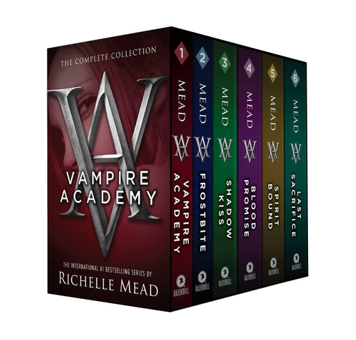 Vampire Academy Series 6 Books Collection - Young Adult - Paperback - Richelle Mead - Books2Door
