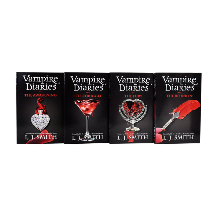 Young Adult - Vampire Diaries Complete 13 Books - Young Adult - Set Paperback  By L J Smith