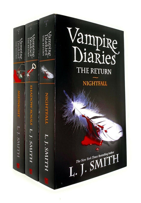 Vampire Diaries The Return 5 To 7 Books Set - Young Adult - Paperback By L J Smith Young Adult Hodder