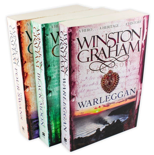 Winston Graham Poldark Series 3 Book Collection - Books 4-6 - Young Adult - Paperback - Books2Door