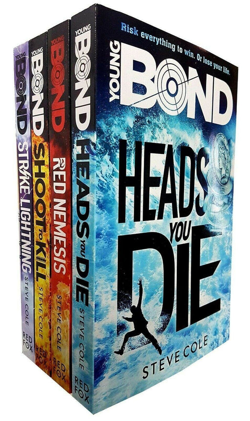 Young Bond 4 Book Collection - Young Adult - Paperback - Steve Cole - Books2Door