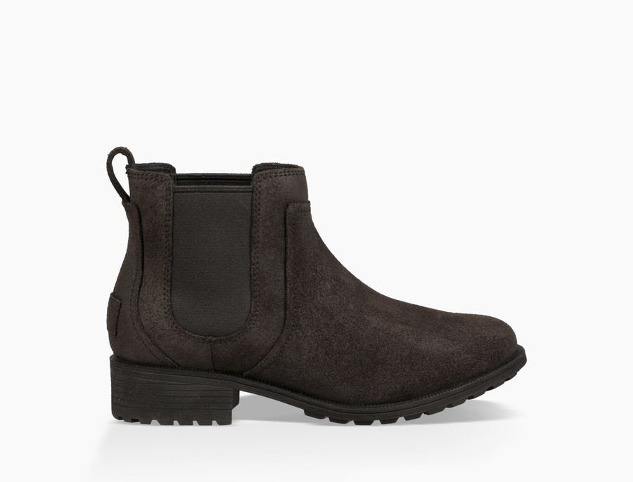 Woman's Ugg Bonham/ Black Winter Boot