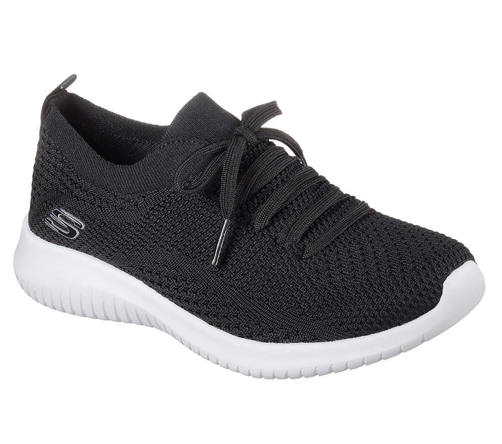 Women's Skechers Flex Statement/Black White Shoe