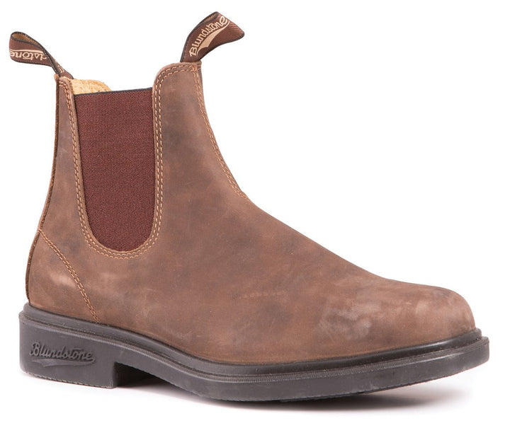 Blundstone 1306 Rustic Brown/Chisel Toe - Omars Shoes