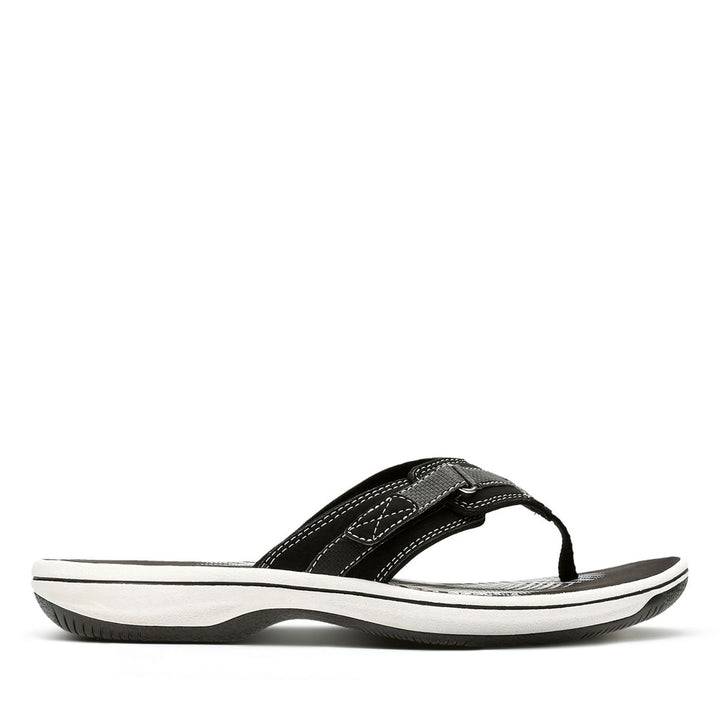 Women's Clarks Breeze Sea/Black Sandal