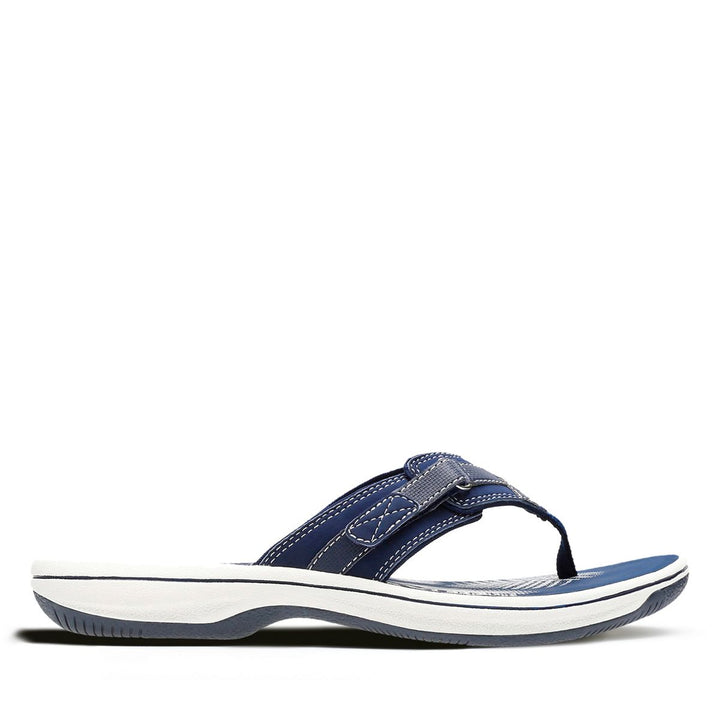 Women's Clarks Breeze Sea/Navy Sandal