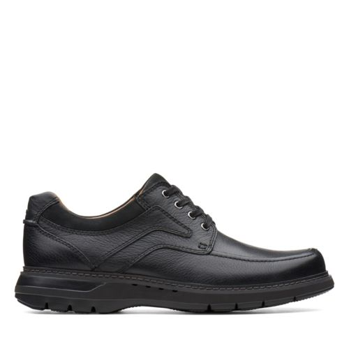 Men's Clarks Un Ramble Lace/ Black Shoe