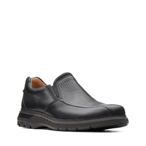 Men's Clarks's Un Ramble Step/ Black Slip-On