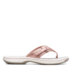 Women's Clarks Breeze Sea/Rose Gold Sandal
