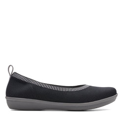 Women's Clarks Ayla Paige/Black Shoe - Omars Shoes