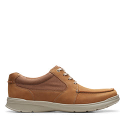 Men's Clarks Cotrell Lane/Brown Shoe - Omars Shoes