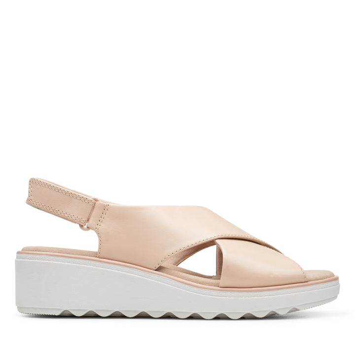 Women's Clarks Jillian Jewel/Blush Sandal - Omars Shoes