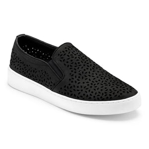 Women's Vionic Midi Perf/Black Slip-On