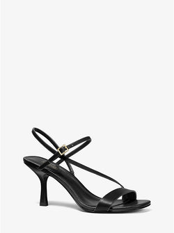Women's Michael Kors Tasha/Black Sandal - Omars Shoes