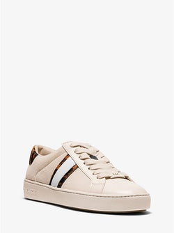 Women's Michael Kors Irving Stripe/Ecru Sneaker - Omars Shoes