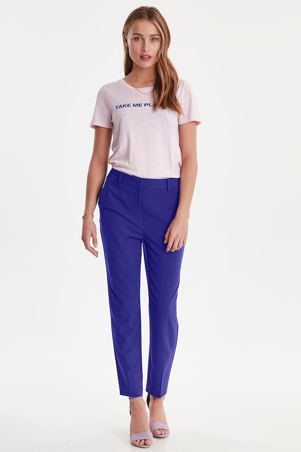 Women's ICHI Isa/Blue Pants