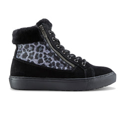 Women's Cougar Dublin/Black Leopard Winter Boot