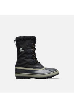 Men's Sorel 1964 Pac Nylon/ Black Winter Boot - Omars Shoes