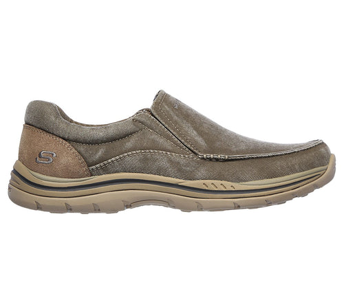 Men's Skechers Avillo/Khaki Shoe