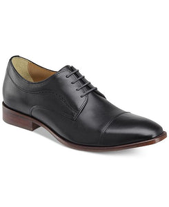 Men's Johnston & Murphy Mcclain Cap Toe/Black Shoe