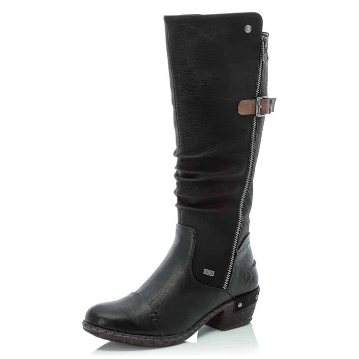Women's Rieker 93654-00/Black Boot