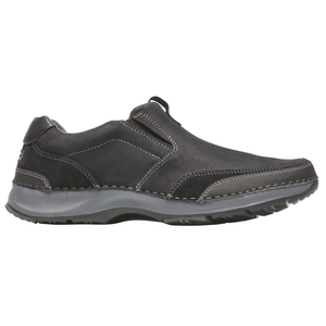 Men's Rockport RocSports Lite Slip-On/ Black Shoe