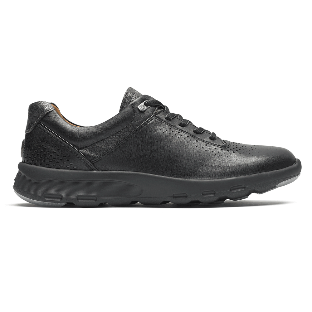 Women's Rockport Let's Walk Ubal/ Black Sneaker